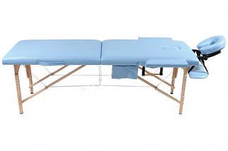 Массажный стол 2 сегментный деревянный , фото 2