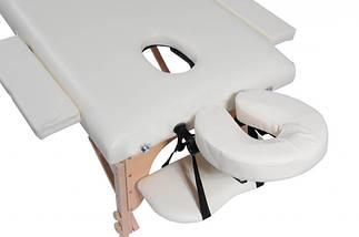 Массажный стол 2 сегментный деревянный , фото 3