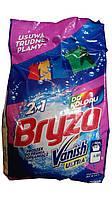 Стиральный порошок для цветных тканей  Bryza 2 в 1 с пятновыводителем Vanish- 4,65 кг.
