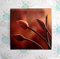 Наклейка на выключатель и розетку Тюльпаны
