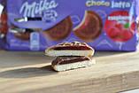 Бисквит Milka Choco Jaffa Raspberry Jelly (милка с малиновым джемом), 150 гр, фото 7