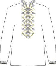 ЧСВП-33. Заготовка Чоловіча сорочка домоткана