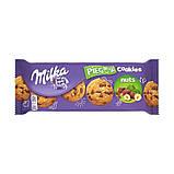 Печенье Milka Pieguski Choco Cookies Nut (c кусочками шоколада и орехами), 135 гр, фото 5