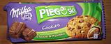 Печенье Milka Pieguski Choco Cookies Nut (c кусочками шоколада и орехами), 135 гр, фото 6