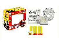Игрушечный пистолет 1 cf228-1 пластик,мягкие пульки,присоски,17x15x6см  100971078