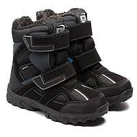 Мембранные сапоги B&G, для мальчика, на липучках, размер 30-38