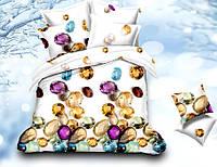 Комплект постельного белья La scala сатин-поликоттон принт PC-015