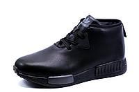 Ботинки зимние Adidas, мужские, черные, фото 1