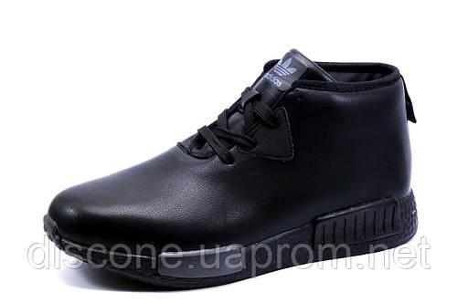 Ботинки зимние Adidas, мужские, черные