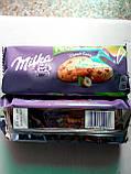 Печенье Milka Pieguski Choco Cookies Nut (c кусочками шоколада и орехами), 135 гр, фото 7