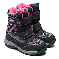 Термо, зимние сапоги B&G, для девочки, размер 28-33