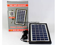 Солнечная панель Solar board 3W-9V + torch charger, солнечное зарядное устройство