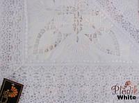 Скатерть круглая 160хQ KAYAOGLU Kamelya белая.