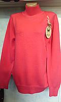 Женский свитер со стойкой большого размера