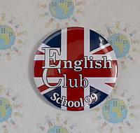 Значок для ученика школы английского языка