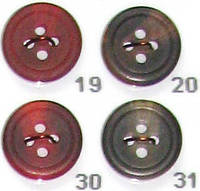 Пуговицы прошивные диаметр 15 мм и 16 мм