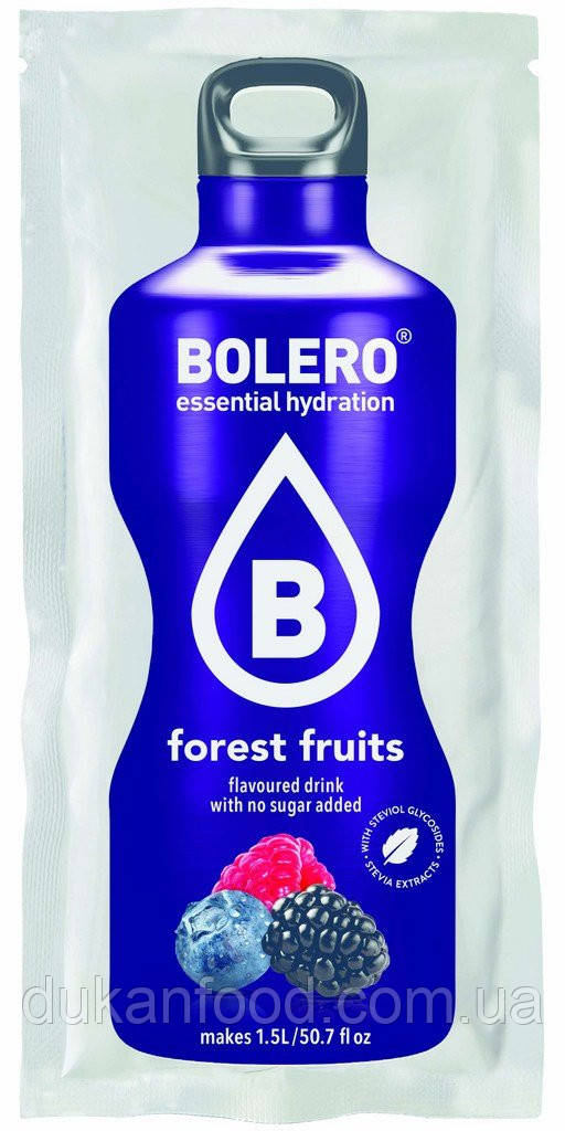 Bolero Drinks без сахара ЛЕСНЫЕ ЯГОДЫ