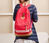 Женский рюкзак P011 красный
