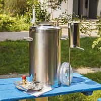Автоклав электрический, огневой 30л (21 банка 0,5л) с дистиллятором, фото 1