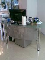 Офисный стол из стекла арт.05