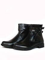 Черные лакированные ботинки, фото 1