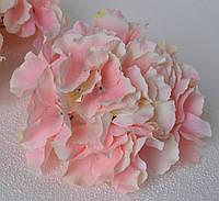 Головка гортензии розовая крупная