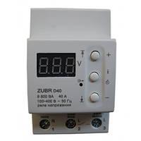 Реле защиты от перенапряжения Zubr D40.