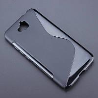 Чехол Huawei Y6 Pro / Enjoy 5 / Honor Play 5X /Honor 4C Pro силикон TPU S-LINE черный