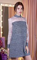 Платье из твида