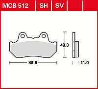 Тормозные колодки TRW / Lucas MCB512