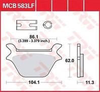 Тормозные колодки TRW / Lucas MCB583LF