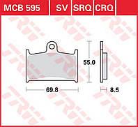 Тормозные колодки TRW / Lucas MCB595