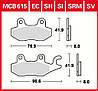 Тормозные колодки TRW / Lucas MCB615