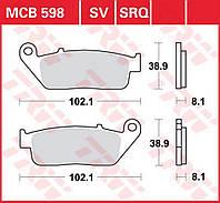 Тормозные колодки TRW / Lucas MCB598SV