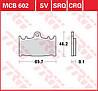 Тормозные колодки TRW / Lucas MCB602
