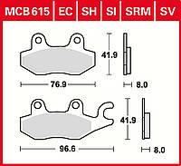 Тормозные колодки TRW / Lucas MCB615SI