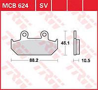 Тормозные колодки TRW / Lucas MCB624