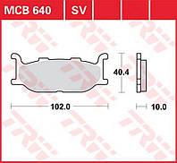 Тормозные колодки TRW / Lucas MCB640