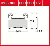 Тормозные колодки TRW / Lucas MCB703