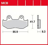 Тормозные колодки TRW / Lucas MCB685