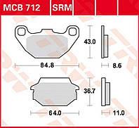 Тормозные колодки TRW / Lucas MCB712