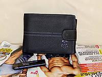 Мужской кошелек из натуральной кожи хорошего качества