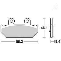 Тормозные колодки TRW / Lucas MCB751