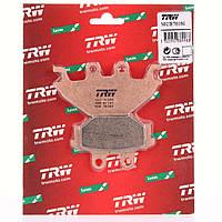 Тормозные колодки TRW / Lucas MCB760SI