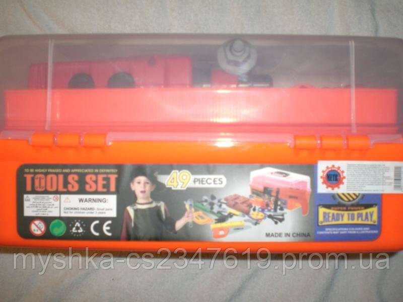 Детский набор инструментов в чемодане 2108 - Кукi в Харькове