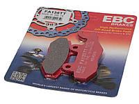 Тормозные колодки EBC FA135TT