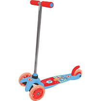 Детский скутер - ФИКСИКИ (3-х колесный, 2 колеса впереди, тормоз). Арт. Т58463