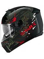 Мотошлем Shark Speed-R 2 Charger черный зеленый L