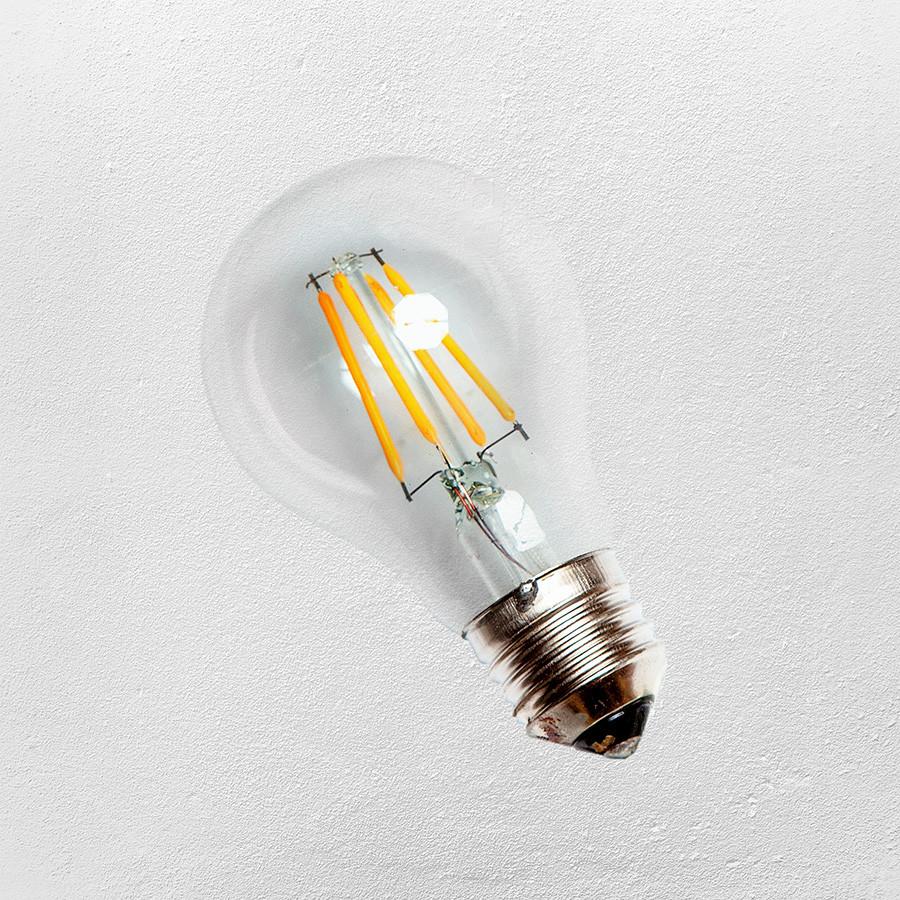 Лампа LED A60 E-27 (с сапфировой нитью) 2700K