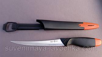 НОЖ РЫБАЦКИЙ 51014, нож длинный, качественный с пластиковой рукоятью